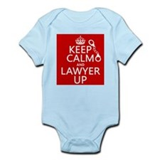 Keep Calm and Lawyer Up Body Suit