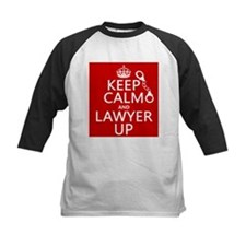 Keep Calm and Lawyer Up Baseball Jersey