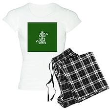 Keep Calm Let's Play Darts pajamas