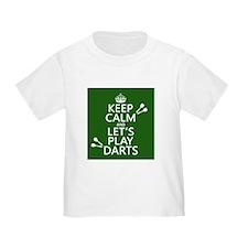 Keep Calm Let's Play Darts T-Shirt