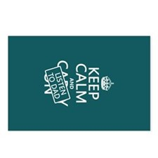 Keep Calm and Listen To Dad Postcards (Package of