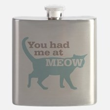 Had Me At MEOW Flask