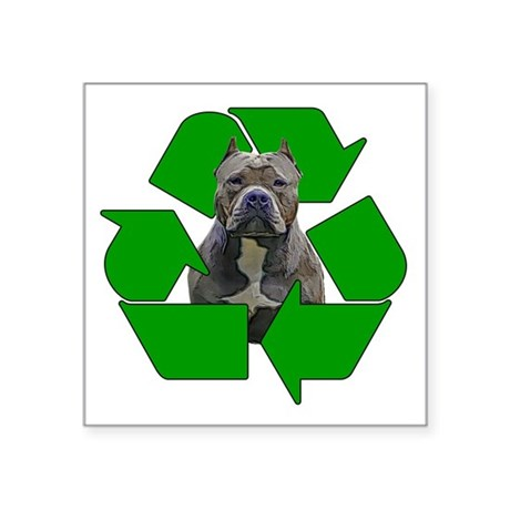 Recycle, Adopt A Pet Dog Sticker