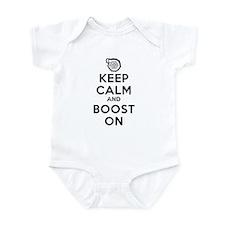 Keep Calm Boost On Infant Bodysuit