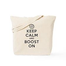 Keep Calm Boost On Tote Bag