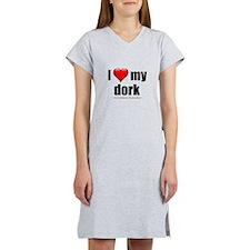 """Love My Dork"" Women's Nightshirt"