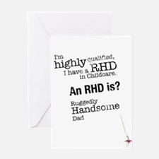 I have a RHD in Childcare Greeting Cards
