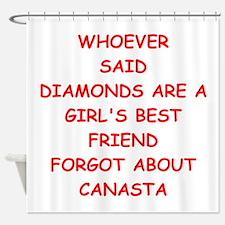 CANASTA2 Shower Curtain