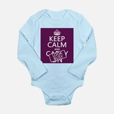 Keep Calm and Look Busy Body Suit