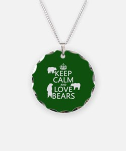Keep Calm and Love Bears Necklace