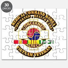 Medical Command Korea w SVC Ribbon Puzzle