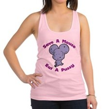 Save A Mouse Racerback Tank Top