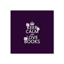 Keep Calm and Love ... Sticker