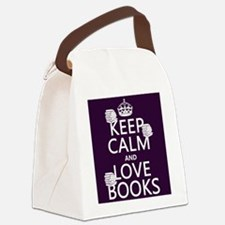 Keep Calm and Love ... Canvas Lunch Bag
