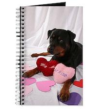 Rottweiler Valentine Journal