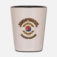 Medical Command Korea Shot Glass