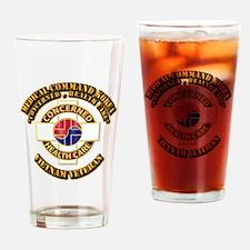 Medical Command Korea Drinking Glass