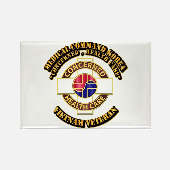 Medical Command Korea Rectangle Magnet