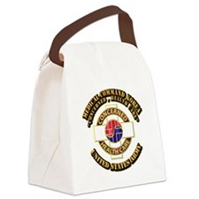 Medical Command Korea with Text Canvas Lunch Bag