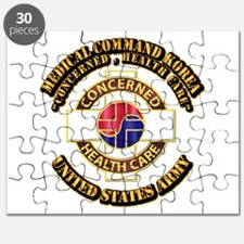 Medical Command Korea with Text Puzzle