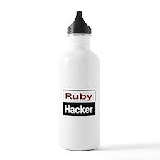 Ruby hacker Stainless Water Bottle 1.0L