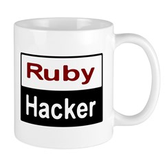 Ruby hacker Mug