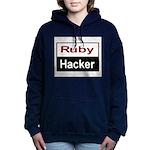 Ruby hacker Women's Hooded Sweatshirt