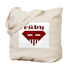 Speed-metal Ruby Tote Bag