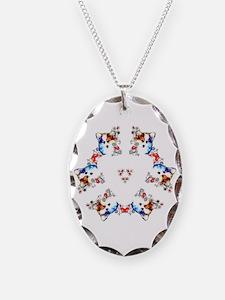 Way too cute Corgi Heart Necklace