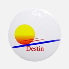 Destin Ornament (Round)