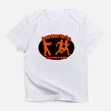 Zombies Against Fast Food (orange) Infant T-Shirt