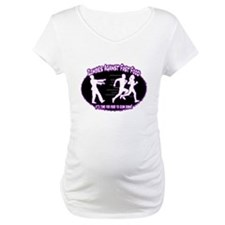 Zombies Against Fast Food (purple) Shirt