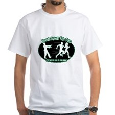 Zombies Against Fast Food (green) T-Shirt