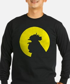 RoosterMoon2 Long Sleeve T-Shirt