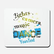 CUSTOMIZE Text Dance Mousepad