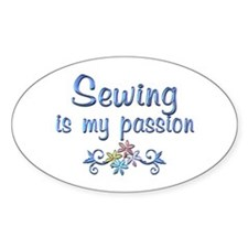 Sewing Passion Decal