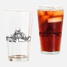 Kart Racing Drinking Glass