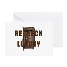 Redneck Luxury Greeting Card