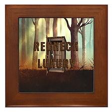 Redneck Luxury Framed Tile