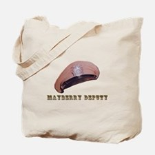 Mayberry Deputy Hat Tote Bag