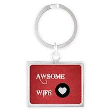 Awsome Wife Love Keychains
