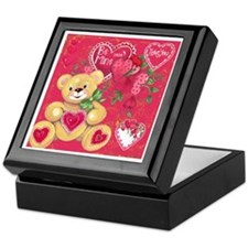 Teddy Bear Valentine Keepsake Box