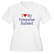 I Love My Venezuelan Husband Plus Size T-Shirt