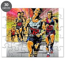 Funny Running marathon Puzzle
