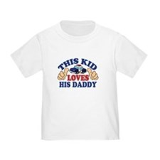 This Kid Daddy Police T-Shirt