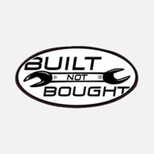 Built Not Bought Patches