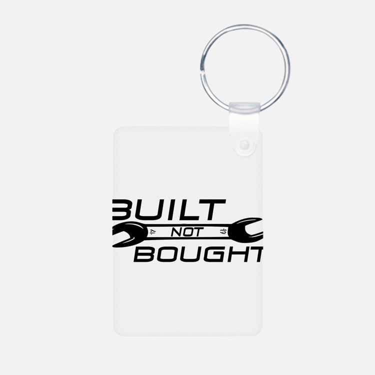 Built Not Bought Keychains