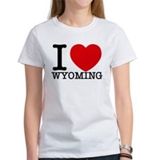 I Love Wyoming T-Shirt