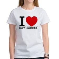 I Love New Jersey T-Shirt