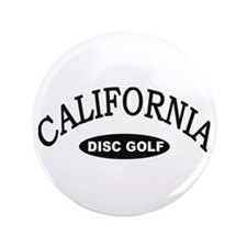 California Disc Golf 3.5&Quot; Button